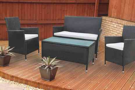 D1 Design & Creative - 4 Piece Luxury Rattan Furniture Set