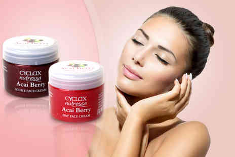 Pamper Me Store - Acai berry day and night face cream set - Save 75%