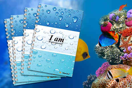 Parax Paper - 4x A6 eco friendly waterproof notebooks - Save 42%