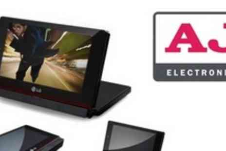 AJ Electronics - LG 8 Portable DVD Player - Save 47%