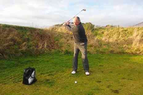 Scotland For Golf - One Hour PGA Lesson With 9 Holes of Golf - Save 70%