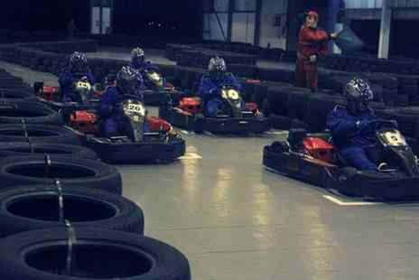 Bredbury Karting - 50 laps of go karting for one or two racers - Save 52%