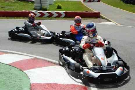 Lakeside & Brentwood Karting - 20 minute karting session for one or two people - Save 50%
