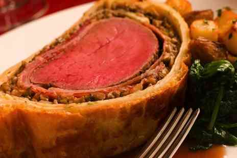 The Cabin Restaurant - Two Course Beef Wellington Meal For Two - Save 68%
