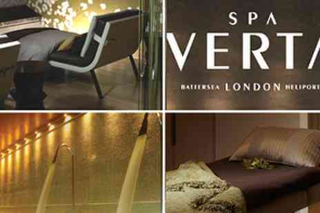 Spa Verta at Hotel Verta - £38 Luxury Spa Day with choice of 25 min treatment & Prosecco - Save 63%