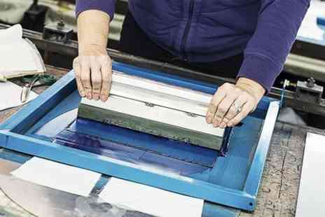 The Sherwood Cookery Workshop - The Textile Workshop Screen or Press Printing Class - Save 76%