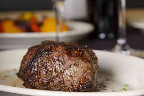The Ropery - Fillet Steak Meal with Glass of Wine Each for Two - Save 54%