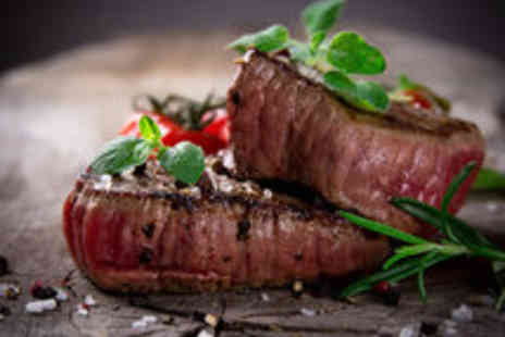 Mansion Restaurant - Chateaubriand and Champagne Meal for Two - Save 46%