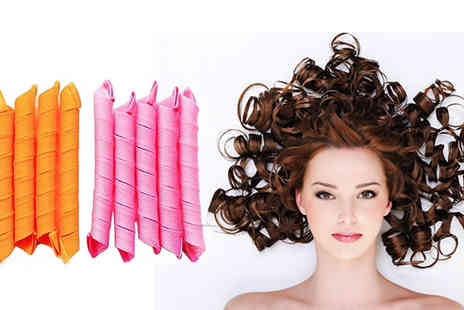 Pearl and Hall Direct -  Pack of 18 leverage hair curlers  - Save 53%