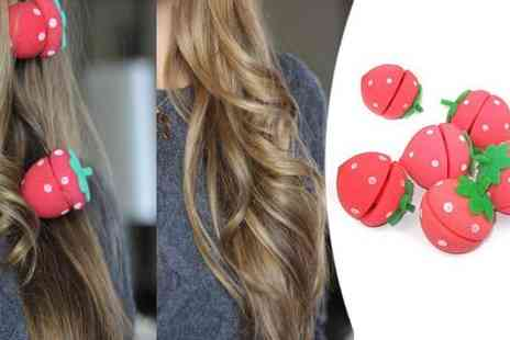 Flutterby Glam - Strawberry Hair Rollers - Save 40%