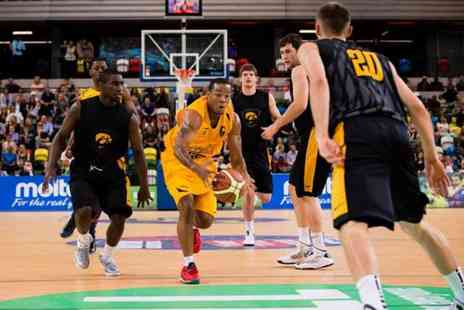 London Lions - Two tickets to see the London Lions vs the Leicester Riders Manchester Giants or Cheshire Phoenix - Save 39%