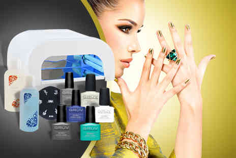 Ganghut - Ultrallac professional nail system including four nail colours - Save 68%