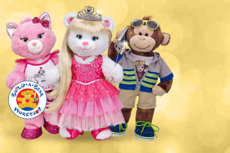 Build A Bear - Workshop voucher to spend online or in store - Save 50%
