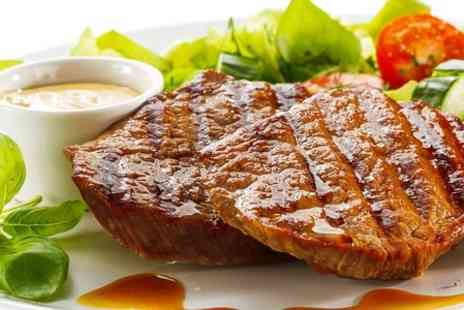 The Bull at Towcester - Steak Meal With Glass of Wine For Two - Save 52%