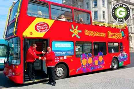 City Sightseeing Liverpool - 30 mins Family Tour - Save 62%