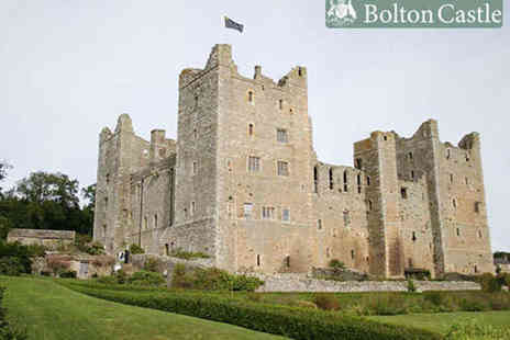 Bolton Castle - Day Pass for One  - Save 53%