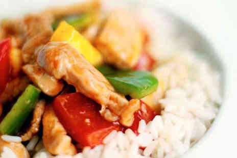 Hong Kong Lounge - Chinese Takeaway Feast of Two Staters Three Mains and Two Sides - Save 75%