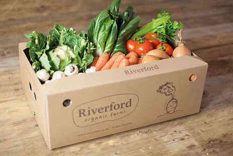 Riverford Organic - Three Small Organic Vegetable Boxes with Delivery - Save 53%