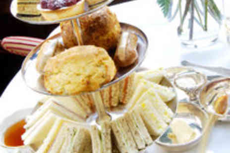 The Greyhound Hotel - Delightful Afternoon Tea with Prosecco for Two - Save 50%
