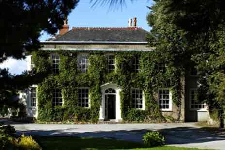 Rose in Vale Country House Hotel - Cornwall Country House Stay with Tasting Menu - Save 51%
