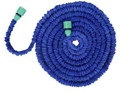 Tooltime - Lightweight Expandable Garden Hose - Save 63%