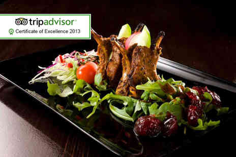 Curry Lounge - Seven course Indian tasting menu for 2 people including Prosecco - Save 62%