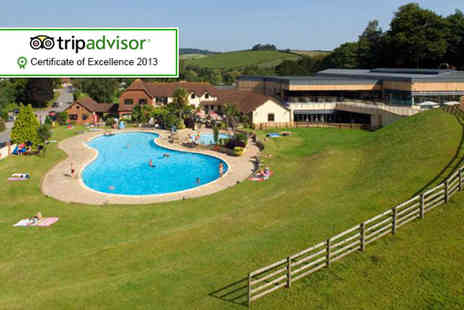 Cofton Country Holiday Park - Three nights stay in a four person holiday home - Save 54%