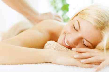 Handmade Beauty - Back Massage and Express Facial - Save 53%