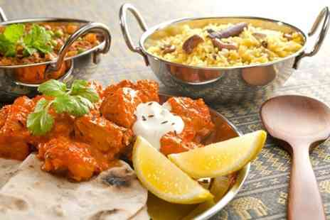 Ranas Bridge of Allan - Two Course Indian Meal For Two - Save 56%