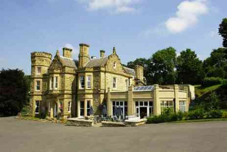 Hollin Hall Hotel - One Nights Stay For Two With Breakfast at Peak District - Save 48%