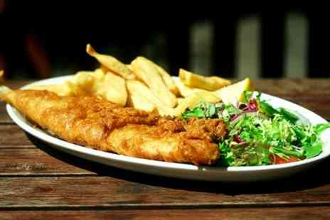 The Cranmer Arms - Fish and Chips Plus Drink For Two  - Save 57%