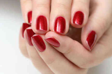 Nails by Jade at ODB Hair - Shellac Polish with Manicure or Pedicure - Save 50%