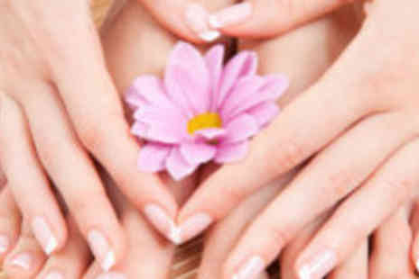 Beauty @ Celebrity Styles - Acrylic or gel nails and a classic pedicure - Save 75%