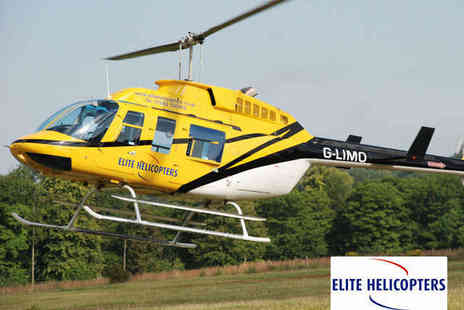 Elite Helicopters - 30 Minute Helicopter Flight Sightseeing Experience for One - Save 36%