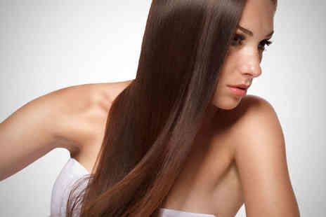 Off the Square Hairdressing - Haircut Blow Dry and Moroccan Oil Treatment - Save 68%