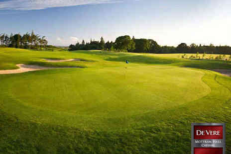De Vere Mottram Hall - 18 Holes of Golf with 50 Range Balls for One - Save 66%
