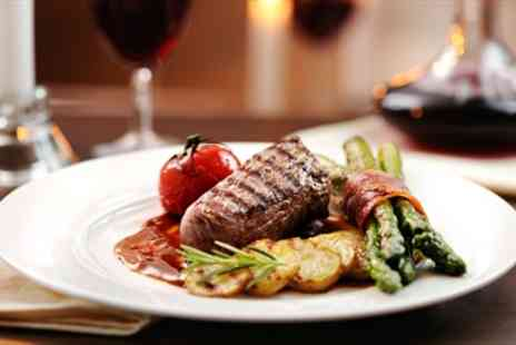 The Black Boy Inn - Excellent Steak Dinner & Wine for 2 - Save 40%