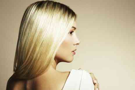 Oceanic Hair & Beauty - T bar or half head of highlights cut and blow dry  - Save 76%