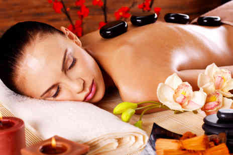 Millicents Hair and Beauty -  45 minute hot stone full body massage - Save 80%
