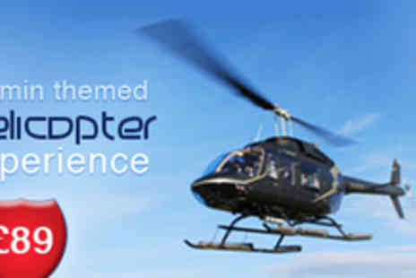 Adventure001 - 20 Minute Themed Helicopter Flight - Save 53%