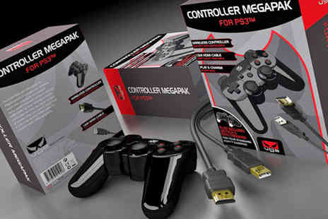 Xbite - Unofficial PS3 controller mega pack - Save 50%