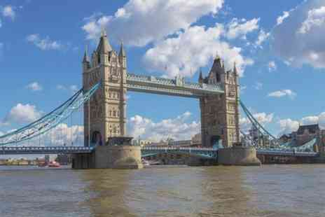 River Thames Cruises -  2.5 Hour Cruise With Afternoon Tea - Save 46%