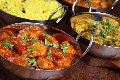 Indigo Bistro - Starter Main and Poppadom Each for Two - Save 51%