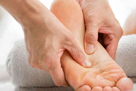 The Reflexology Space - One Hour Reflexology Session - Save 72%