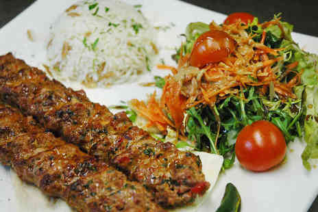 StoneCave Cafe Bar & Restaurant - Four Course Turkish Meal for Two - Save 56%