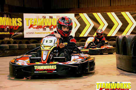 Teamworks Karting - 30 Minute Indoor Karting Experience - Save 52%
