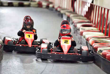Indoor Super Karting - 30 Lap Go Karting Experience - Save 60%