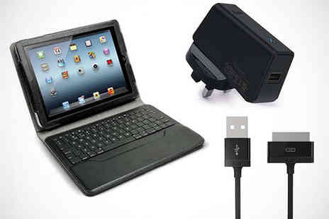 Bods Retail - IPad Case with Bluetooth Keyboard Including Delivery - Save 71%