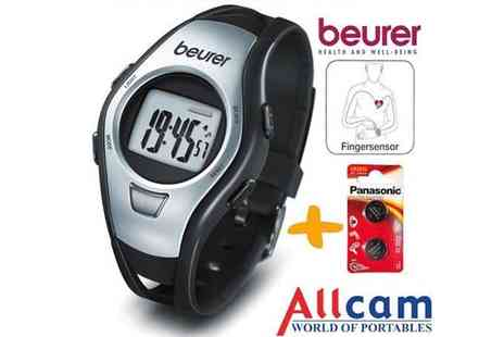 Allcam - Beurer Heart Rate Monitor Sports Watch - Save 50%