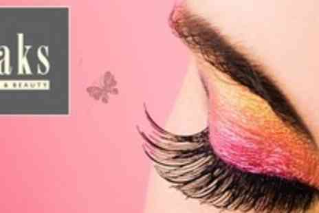Saks Hair and Beauty - Nouveau Eyelash Extensions With Eyebrow Shape and Tint - Save 71%